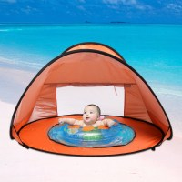 Uv Tent & Docooler Beach Shade Tent Sun Shelter Automatic