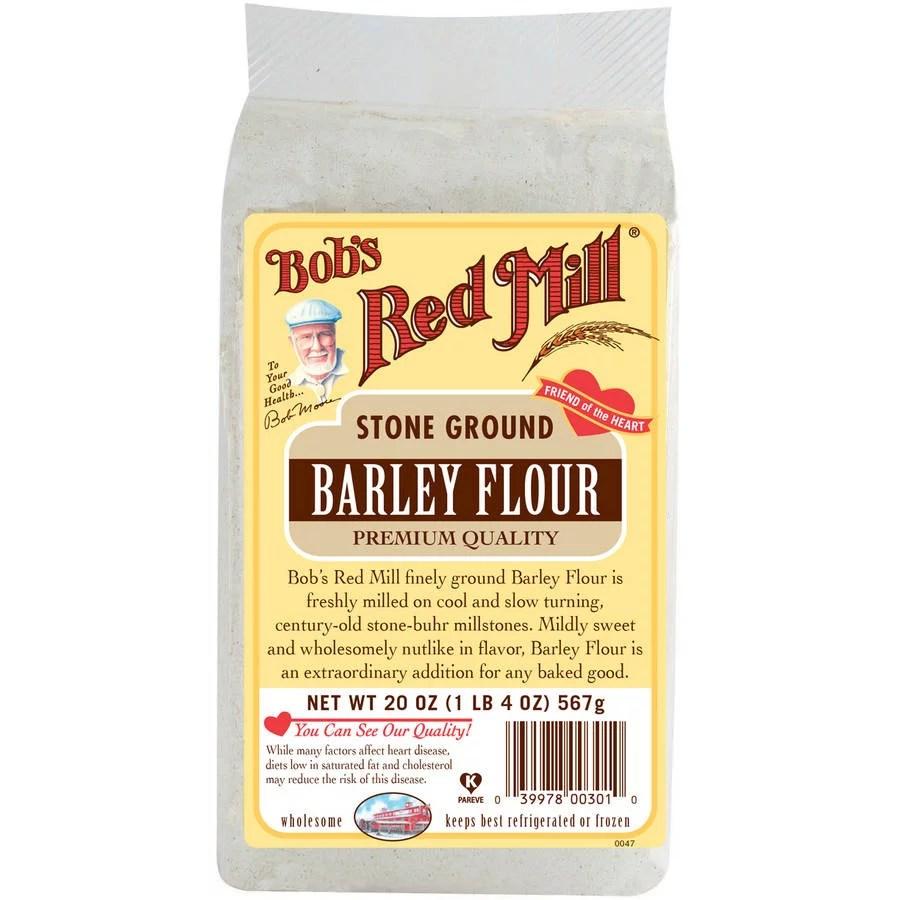 Bobs Red Mill Barley Flour 20 oz Pack of 4  Walmartcom