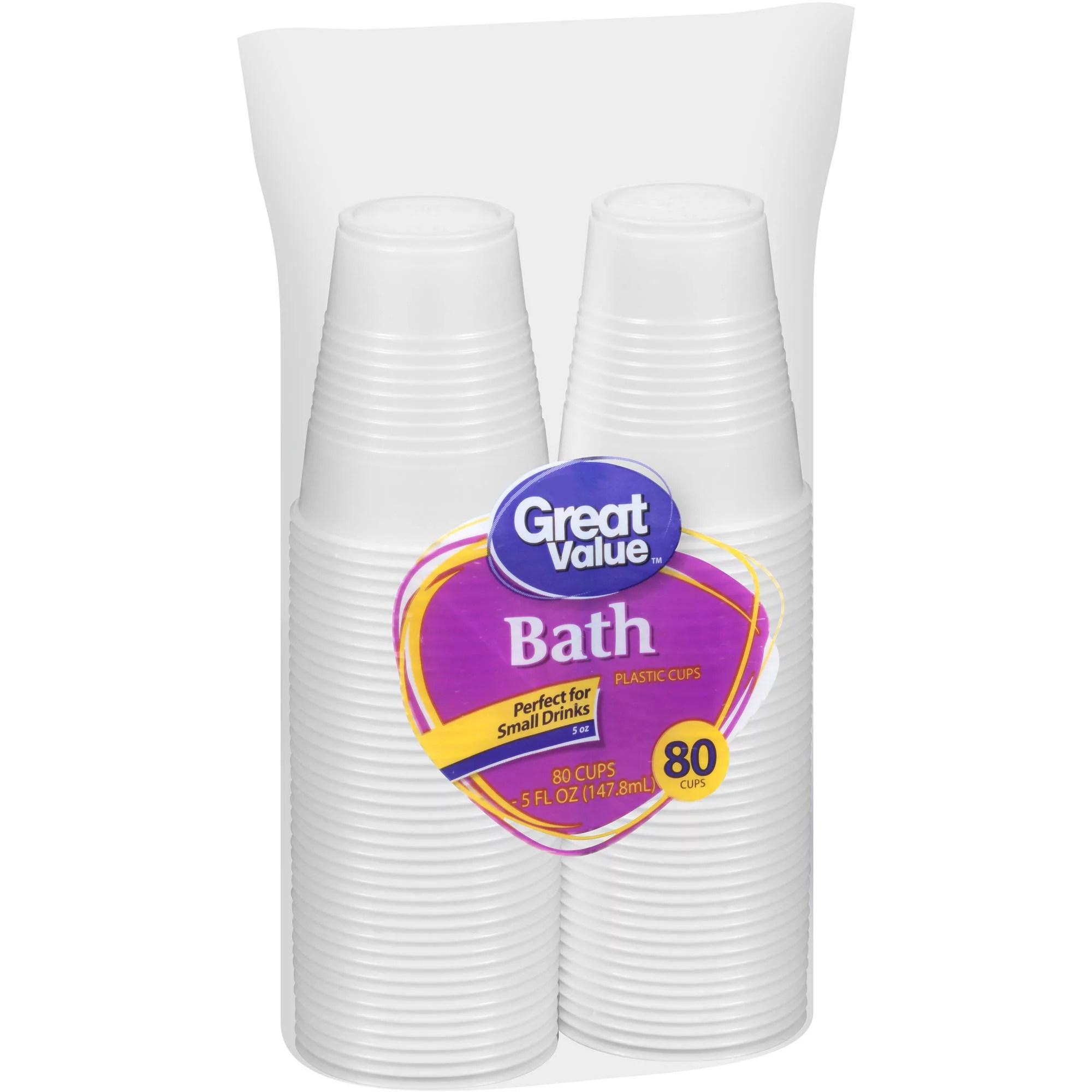 Clear Plastic Cups Walmartcom