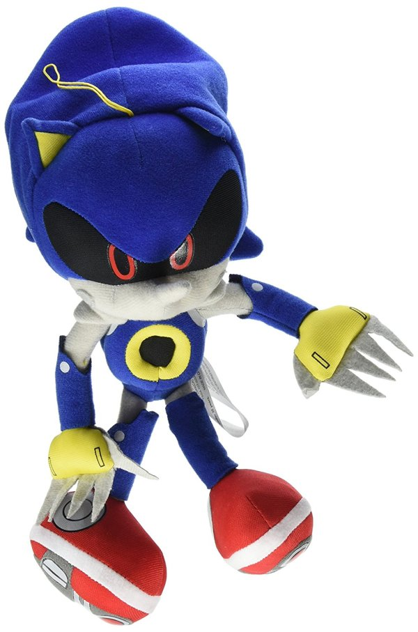 "Great Eastern Sonic Hedgehog 10"" Metal Plush"