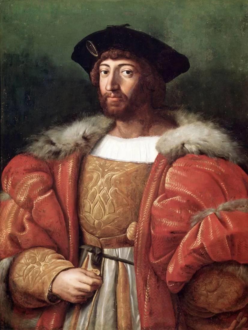 Portrait Of Lorenzo De Medici Duke Of Urbino By Raphael