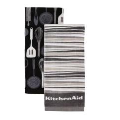 Kitchen Towels American Plastic Toys Custom Product Image Kitchenaid Utensils And Stripe Set Of 2