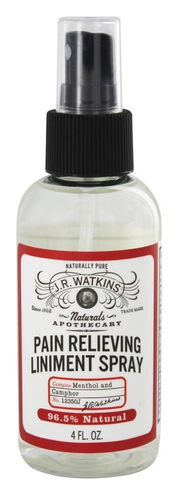 J.R, Caramel Color, Watkins J.R, Watkins Pain Relieving Liniment Spray   Walgreens
