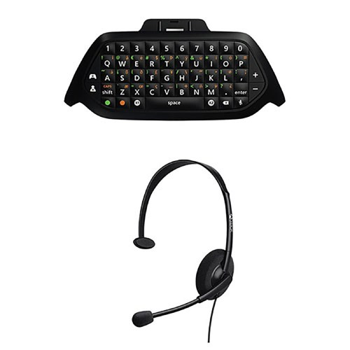 small resolution of microsoft wired headset chat pad keypad for xbox one gaming online game black walmart com