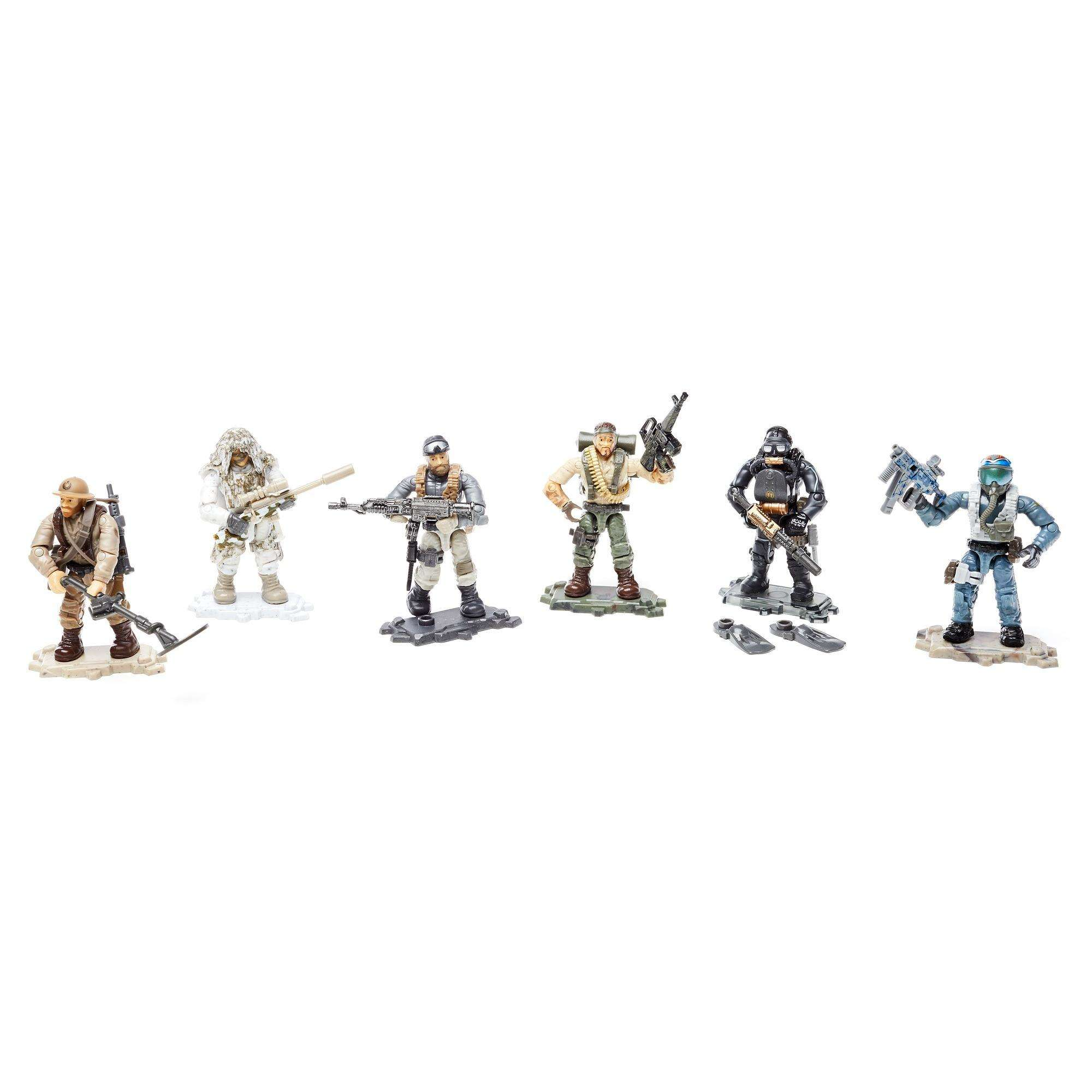 Mega Construx Call Of Duty Specialists Figure Styles May