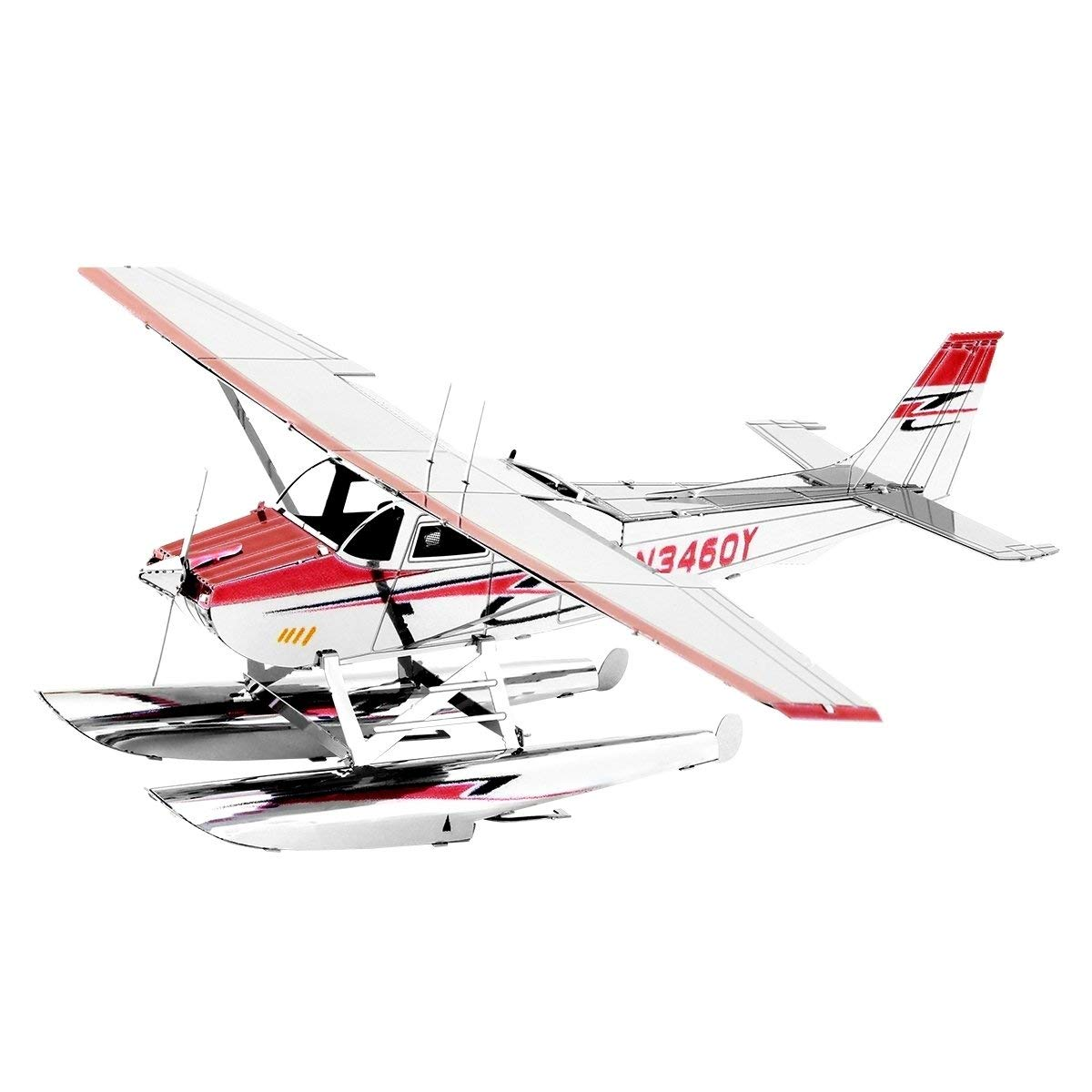 Metal Earth Cessna 182 Floatplane 3D Metal Model