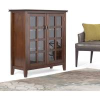 Simpli Home Artisan Medium Storage Cabinet - Walmart.com