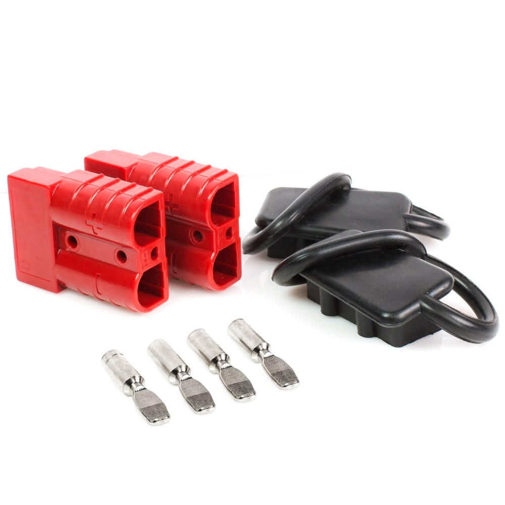 medium resolution of battery quick connect disconnect electrical plug 6 10 gauge 75 amps for recovery winch or atv quad walmart com