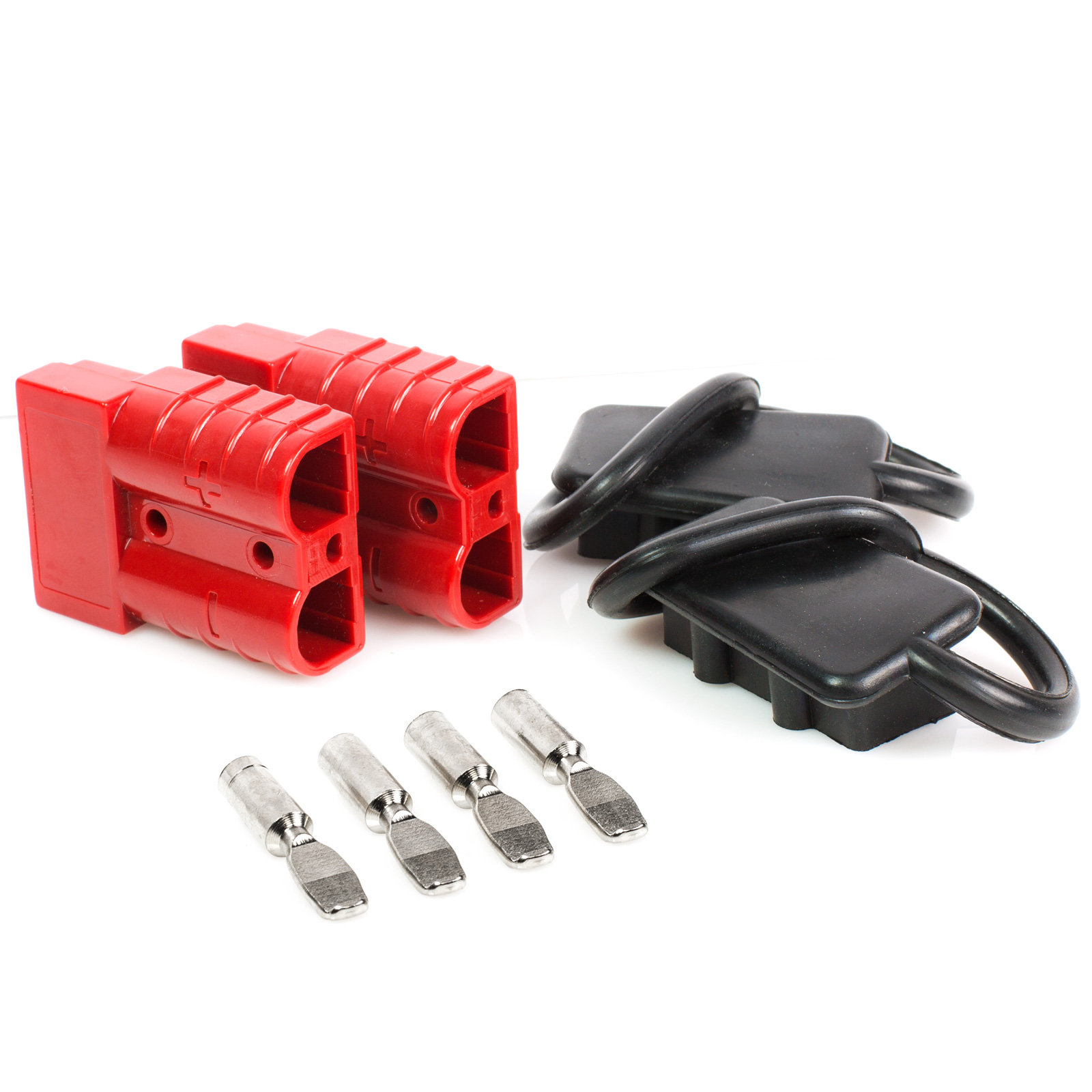 hight resolution of battery quick connect disconnect electrical plug 6 10 gauge 75 amps for recovery winch or atv quad walmart com