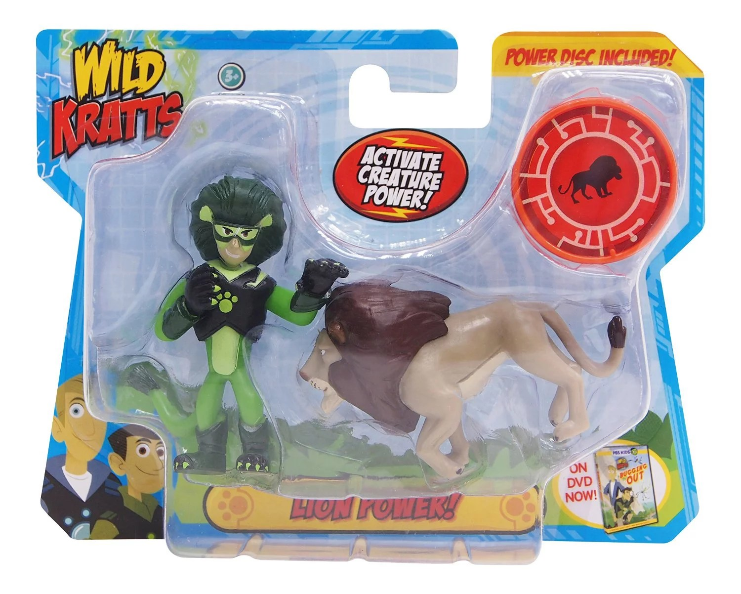Wild Kratts Lion Power Figure 2 Pack Walmart