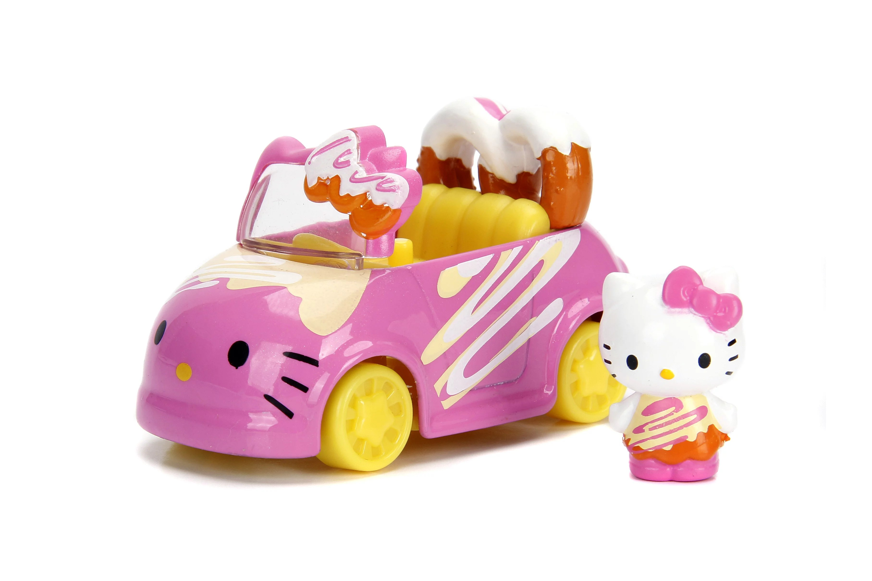 Dazzle Dash Hello Kitty Single Pack Die Cast Vehicle By