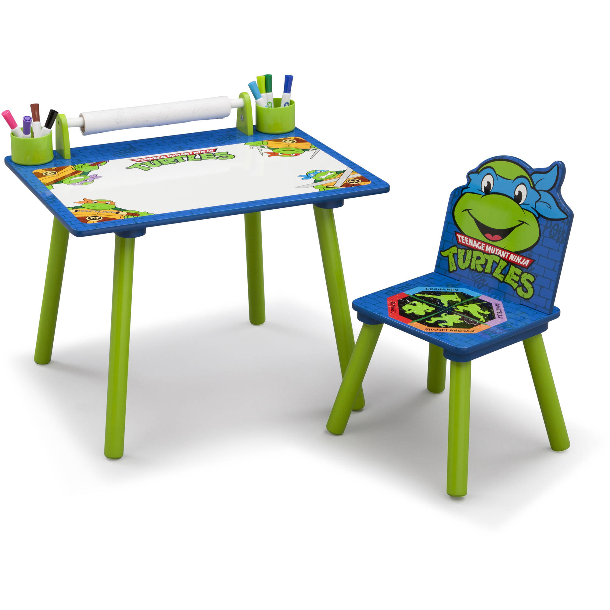 ninja turtles chair vintage wooden dining chairs nickelodeon teenage mutant art desk