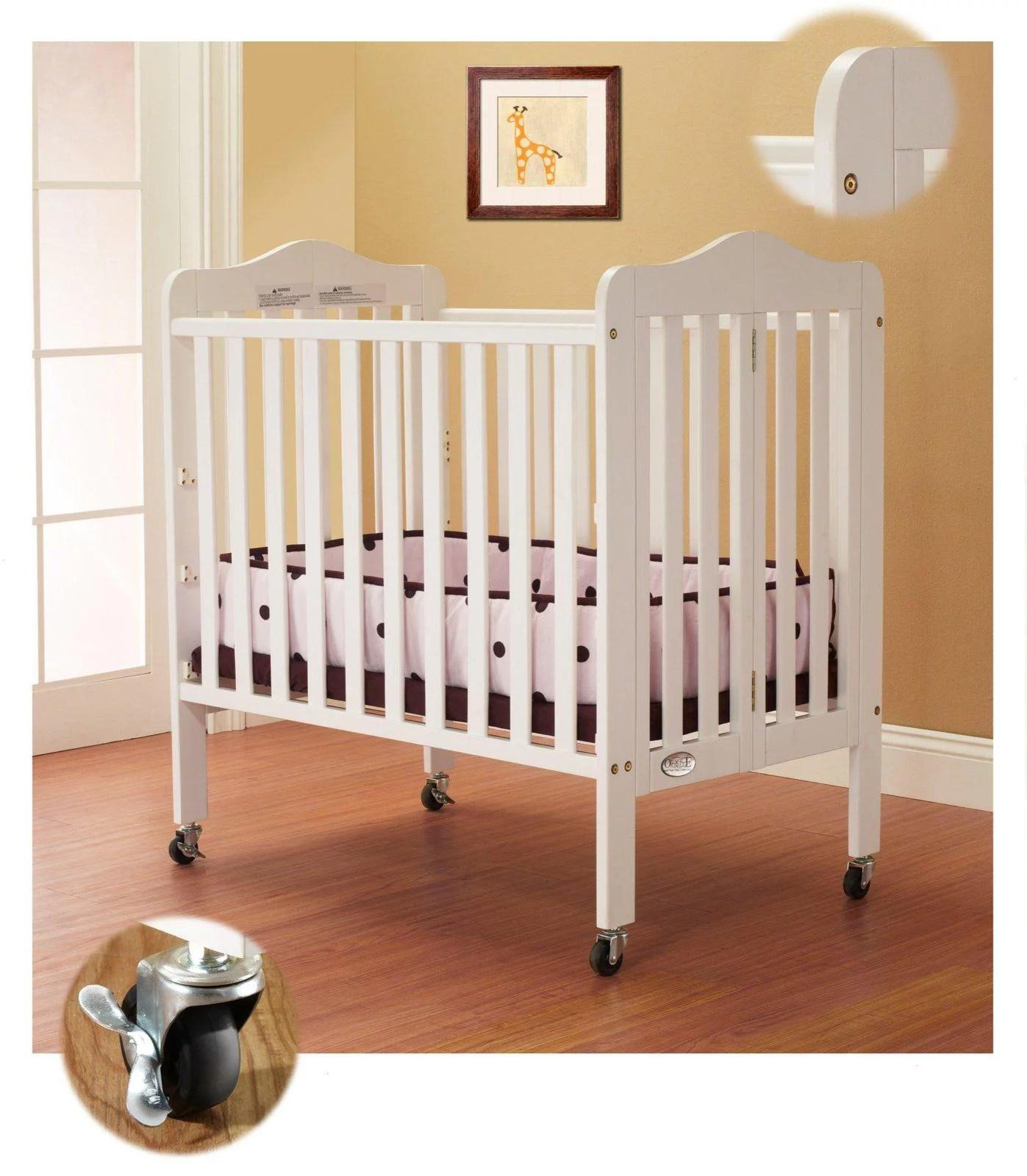 Tina/Noa Portable Crib-Color:White - Walmart.com