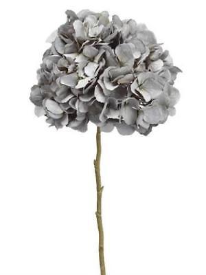 antique grey hydrangea artificial