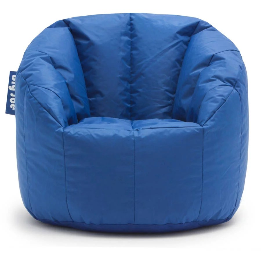Big Joe Milano Bean Bag Chair Multiple Colors Blue For
