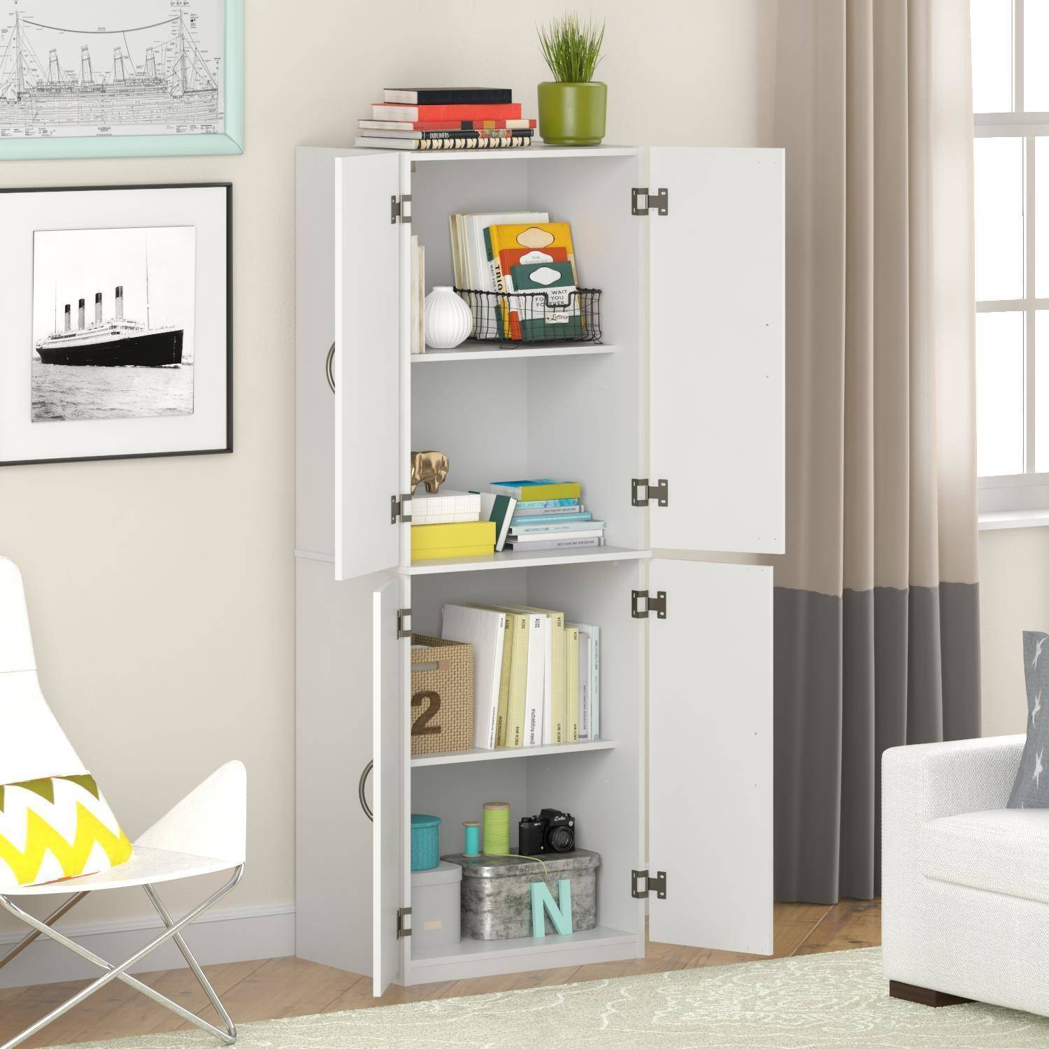tall storage units for living room modern side tables uk mainstays cabinet multiple finishes walmart com