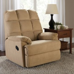 Rocker And Recliner Chair Amazon Club Covers Mainstays Microsuede Walmart Com Departments