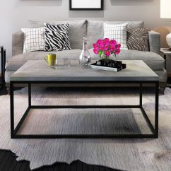 New Style Living Room Furniture Ikea Curtains Gymax Modern Rectangular Cocktail Coffee Table Metal Frame Qty