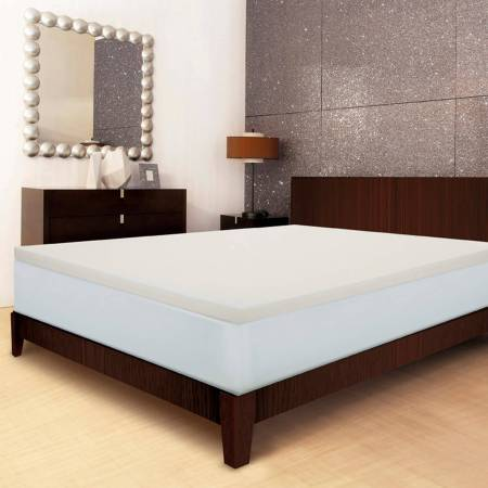 Sleep Innovations 2 Memory Foam Mattress Topper