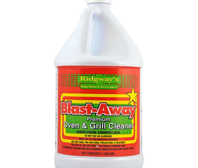 Ridgway Industries Blast Away Oven And Grill Cleaner Clear 1 Gal Bottle Liquid
