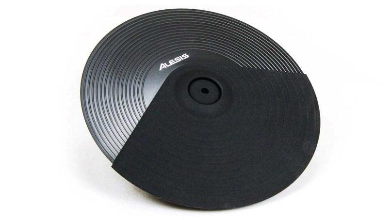 Dual Zone Electronic Drum Cymbal Pad