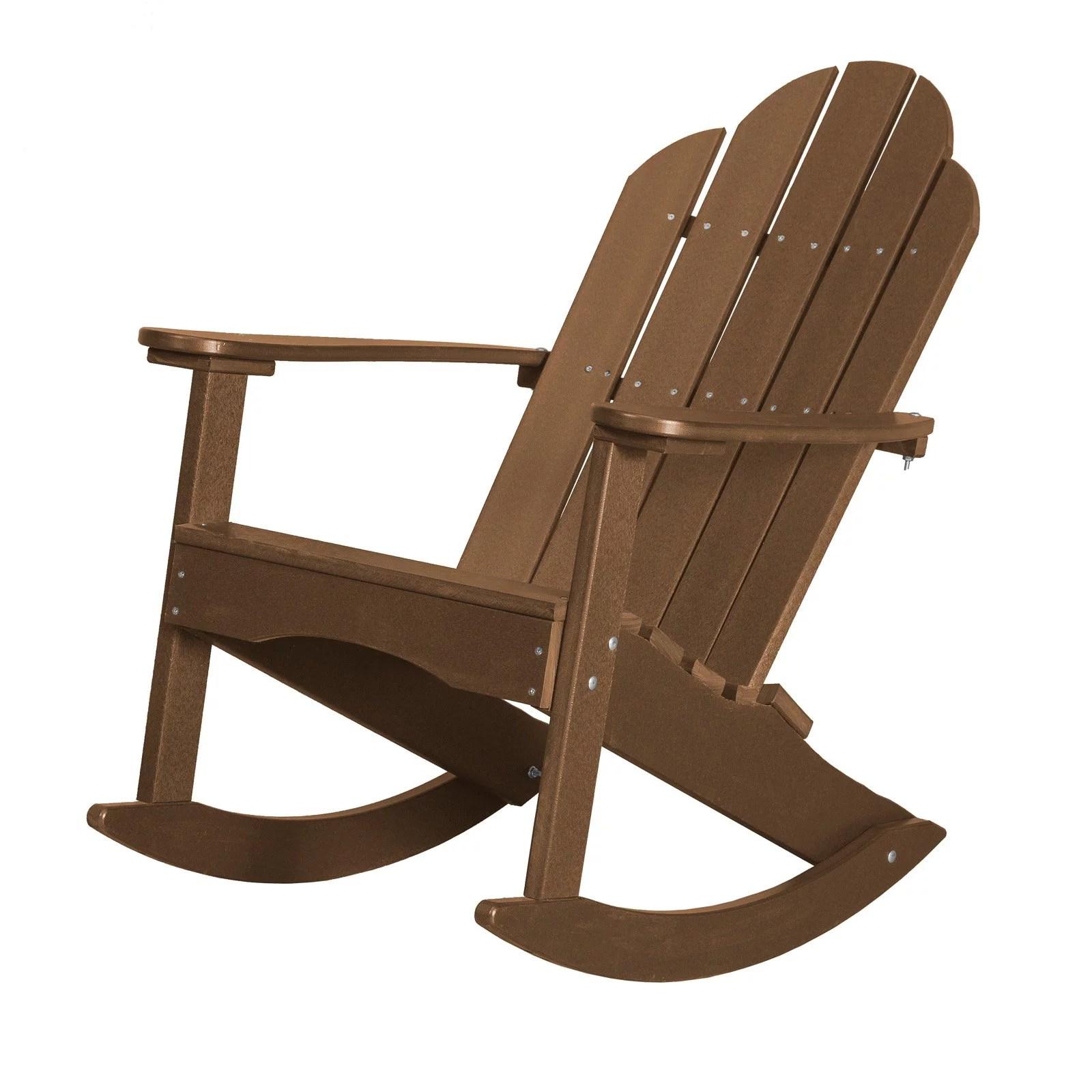 plastic adirondack chairs walmart upholstered office chair on casters wildridge classic rocker