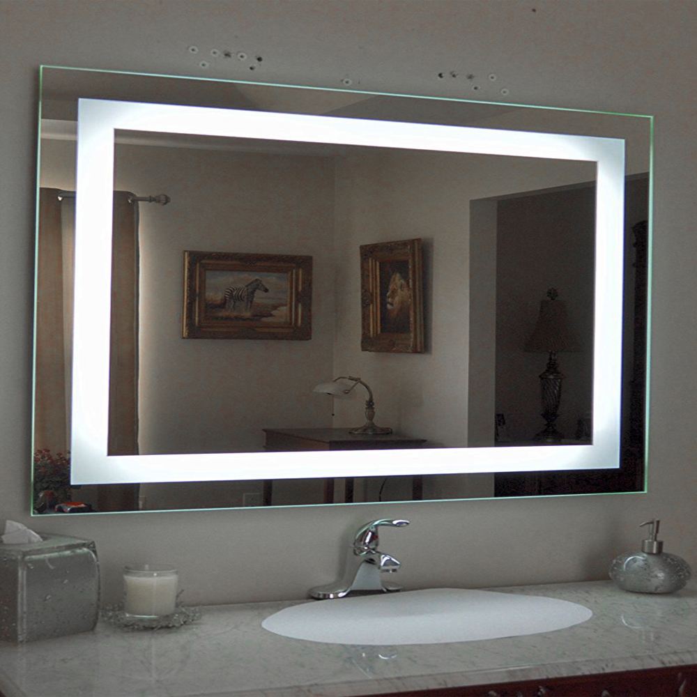 Ktaxon Antifog Wall Mounted Lighted Vanity Mirror LED
