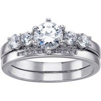 Sterling Silver Wedding Rings - Walmart.com