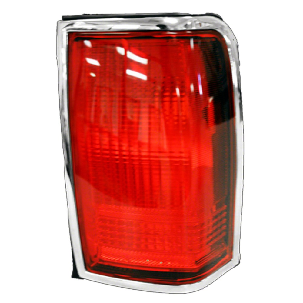 medium resolution of 1990 1997 lincoln town car passenger side right tail lamp lens and housing f5vy13404a v walmart com