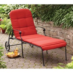 Red Lounge Chair Pittsburgh Steelers Chairs Better Homes Gardens Clayton Court Chaise With Wheels Walmart Com