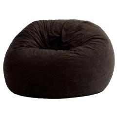 Bean Bag Chairs Rolling Office Chair On Wood Floors Big Joe Large 4 Fuf Multiple Colors Fabrics Walmart Com