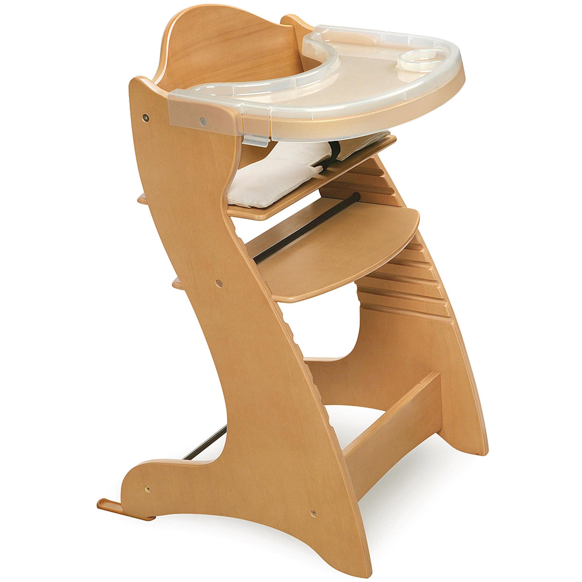 Badger Basket  Wooden High Chair Natural  Walmartcom
