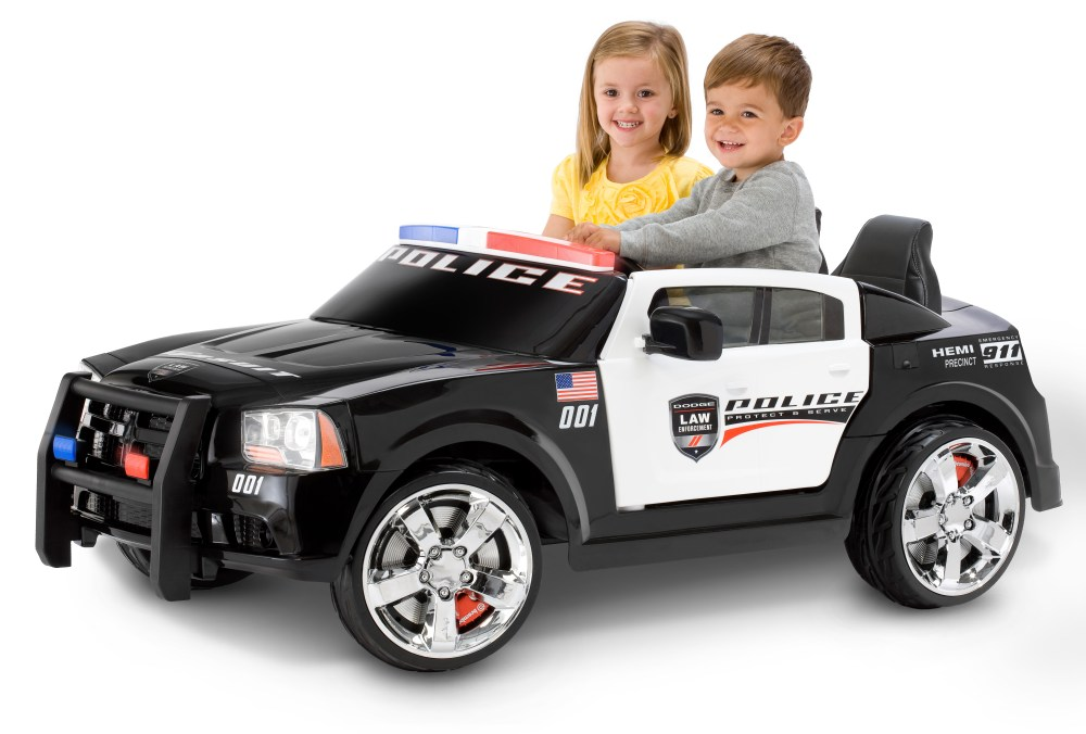 medium resolution of kid trax dodge pursuit police car 12 volt battery powered ride on