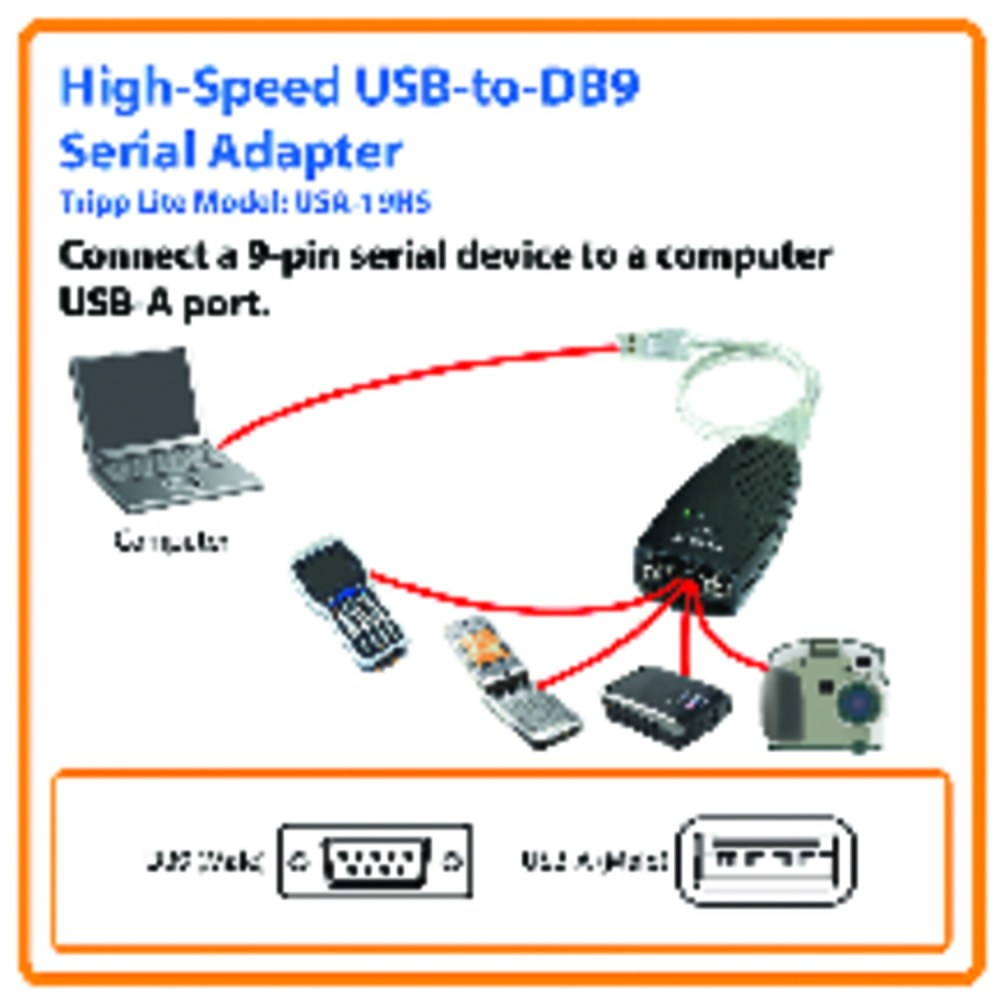 medium resolution of tripp lite keyspan high speed usb to serial adapter serial adapter walmart com