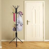 OxGord Coat Hat Metal Rack Organizer Hanger Hook Stand for ...