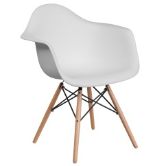 Walmart White Plastic Chairs Fabric Desk Chair Flash Furniture Alonza Series With Wood Base Com