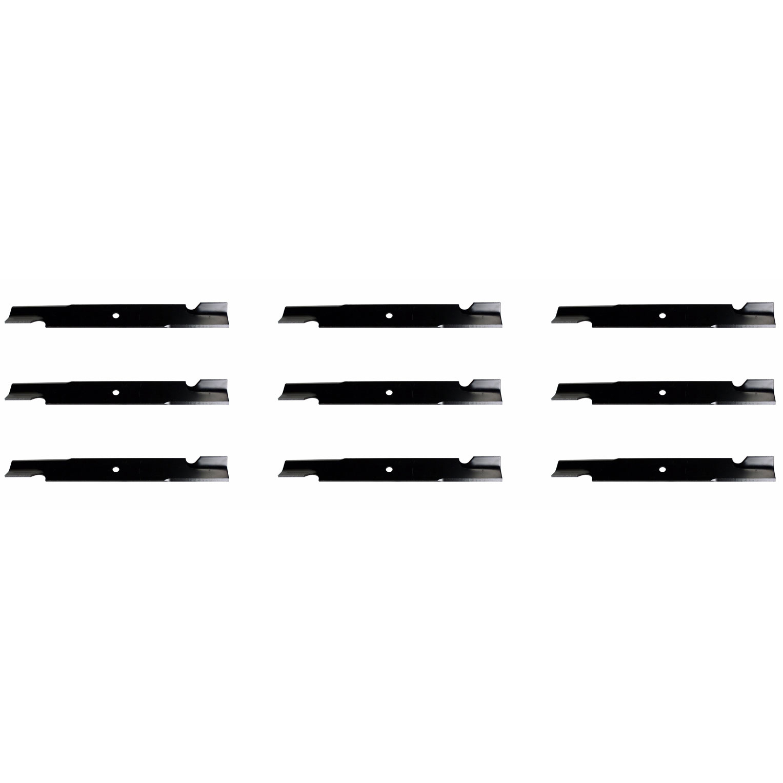 hight resolution of 9 usa mower blades for bobcat 72039b wm142180b 42180b 112243 03 61 deck walmart com