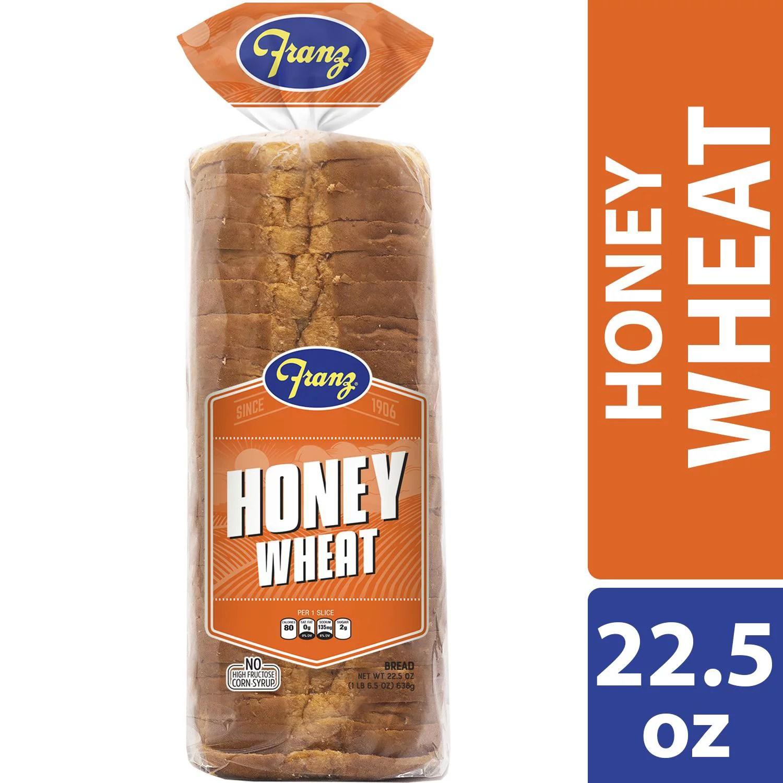 Franz Honey Wheat Bread 22.5 oz - Walmart.com - Walmart.com