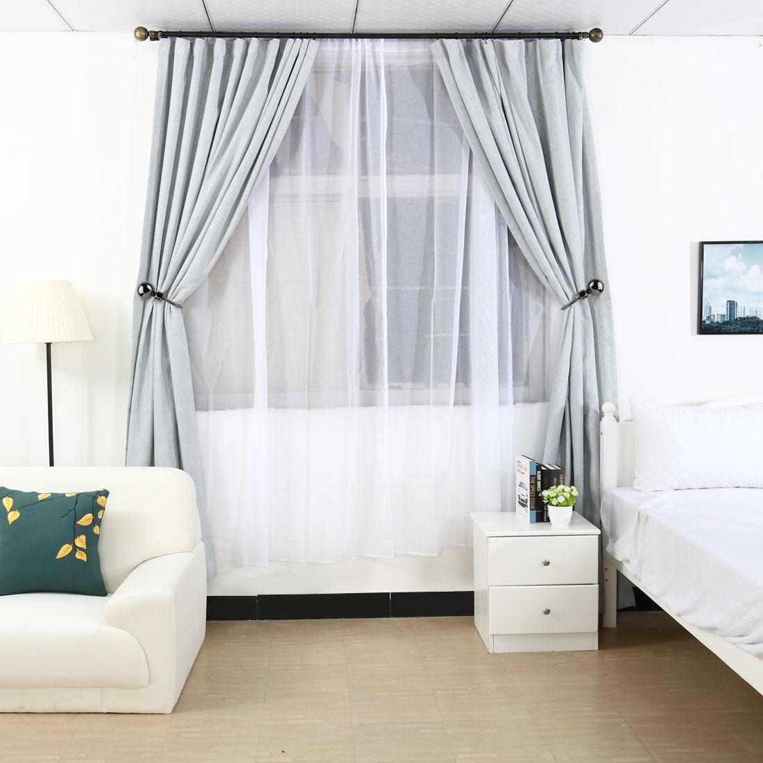 metal window drapery tie backs curtain