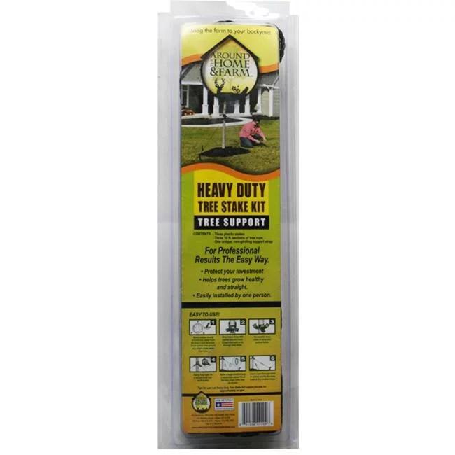 Around the Home & Farm Heavy Duty Tree Stake Kit - Walmart.com - Walmart.com