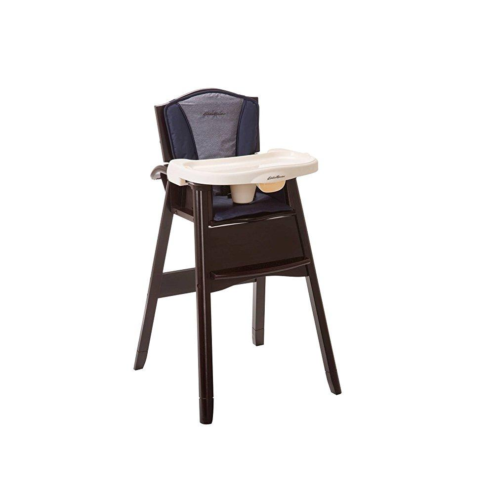 eddie bauer multi stage high chair fabric for office upholstery classic 3 in 1 wood twilight blue walmart com departments