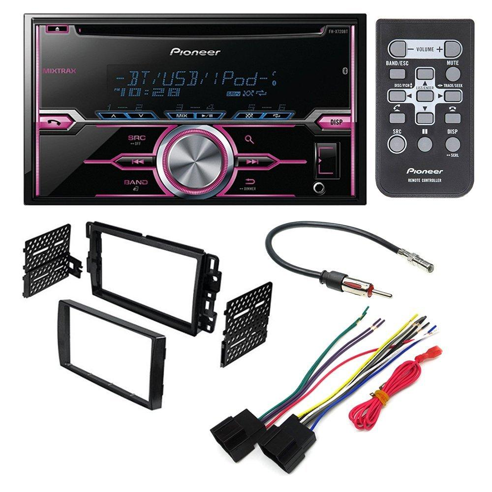 medium resolution of pioneer fh x720bt aftermarket car stereo dash installation kit w rh walmart com delphi harness diagram for saturn delphi harness diagram for saturn