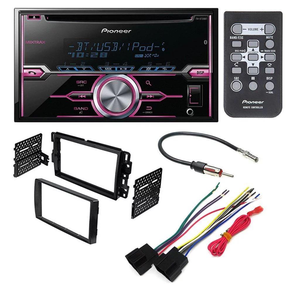 hight resolution of pioneer fh x720bt aftermarket car stereo dash installation kit w rh walmart com 2008 saturn vue
