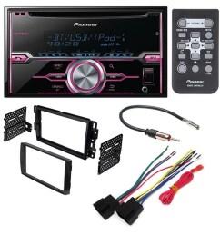 pioneer fh x720bt aftermarket car stereo dash installation kit w wiring harness antenna select buick chevrolet gmc hummer pontiac saturn suzuki walmart  [ 1000 x 1000 Pixel ]