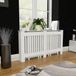 White Mdf Radiator Cover Heating Cabinet 60 Walmart Com Walmart Com