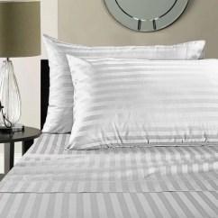 Sofa Sheets The Factory Vadodara Queen Sleeper Sheet Set 62 X 74 6 Deep Stripe White 1800 Series Brushed Microfiber By Great American Store Walmart Com