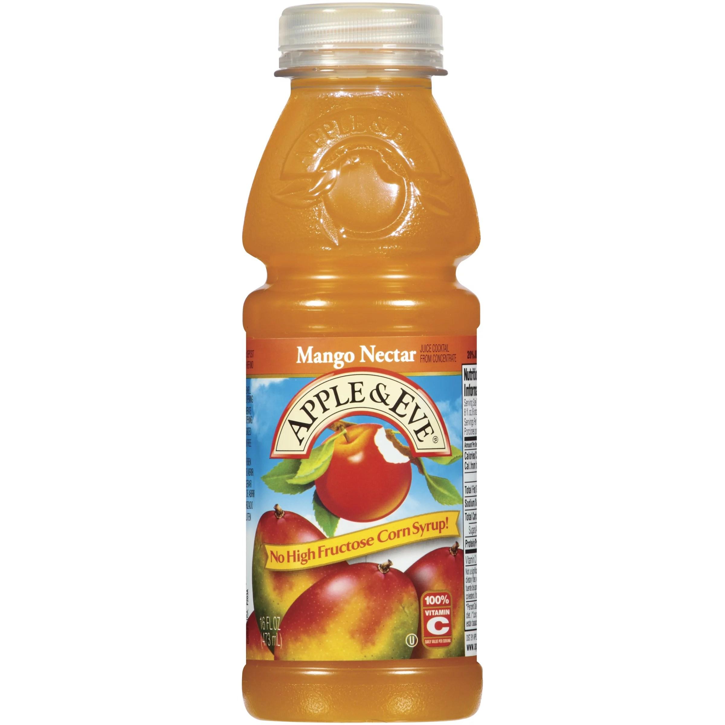 Apple Eve Mango Nectar Juice 16 Fl Oz Walmartcom