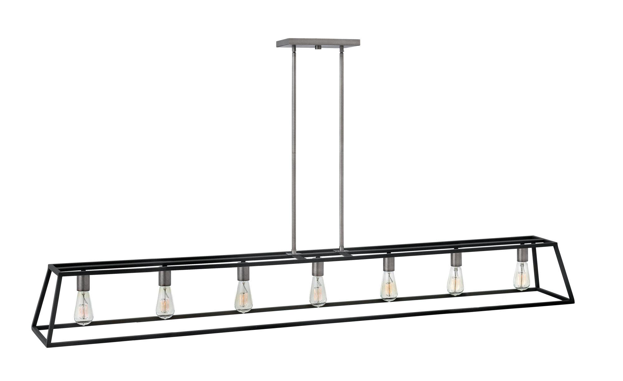 Hinkley Lighting 3355 7 Light 1 Tier Linear Chandelier