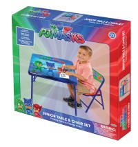 PJ Masks JR Activity Table W/ 1 Chair - Walmart.com