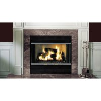 Majestic Fireplace Royalton 36'' Radiant Wood Burning ...